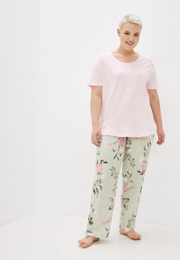 женская пижама evans, разноцветная