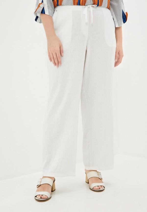 женские прямые брюки evans, белые