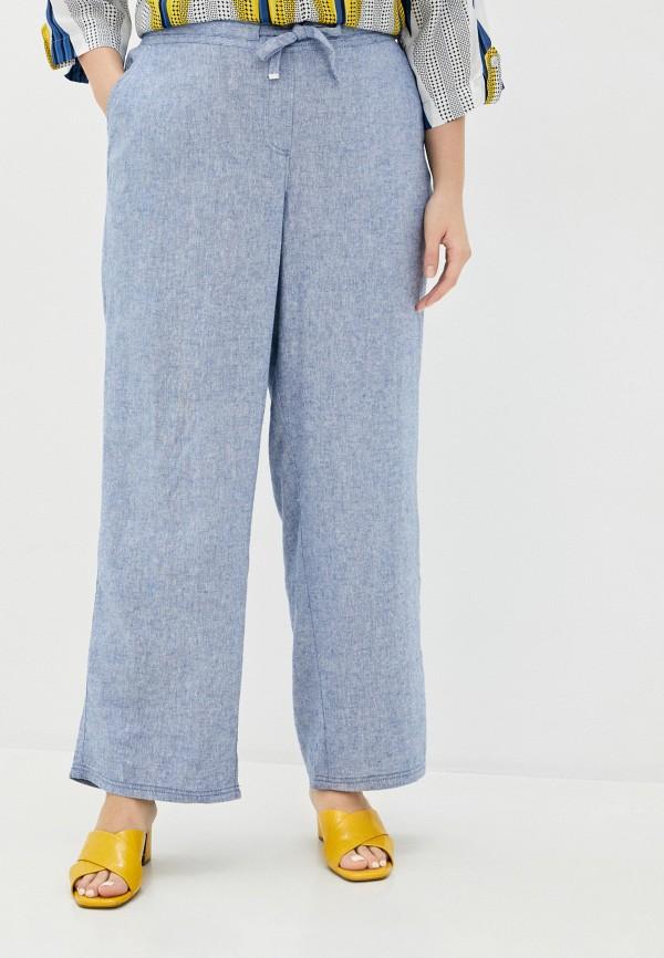 женские прямые брюки evans, голубые