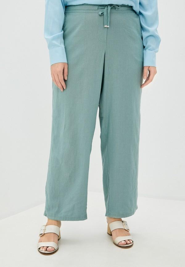 женские прямые брюки evans, бирюзовые