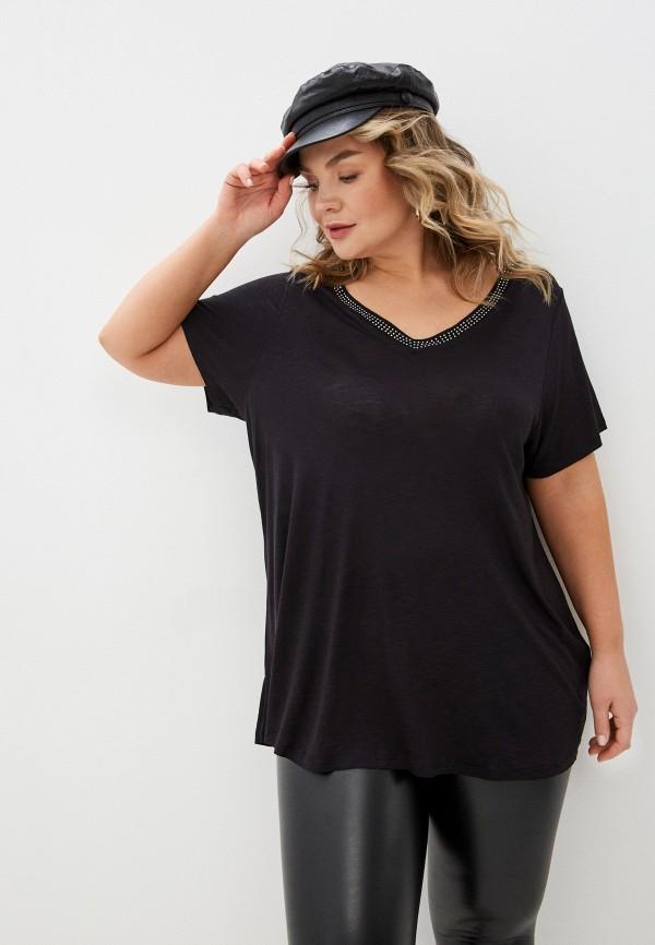 женская футболка evans, черная