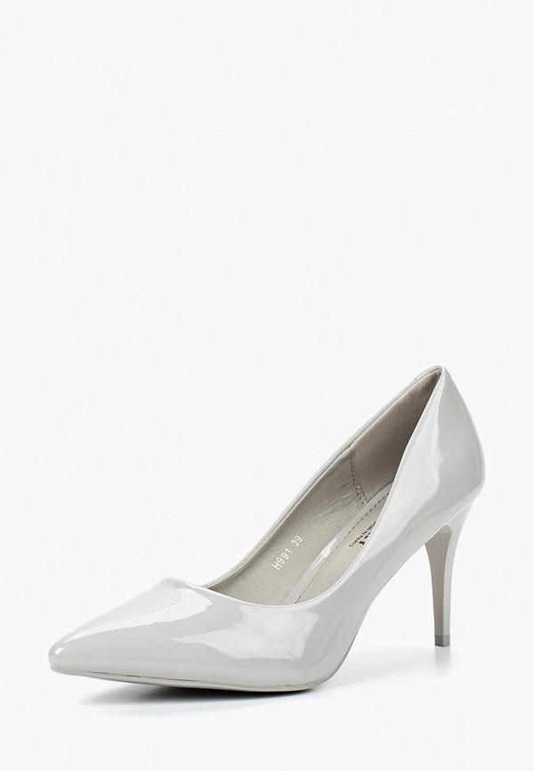 Купить Туфли Exquily, EX003AWCAOH0, серый, Осень-зима 2018/2019