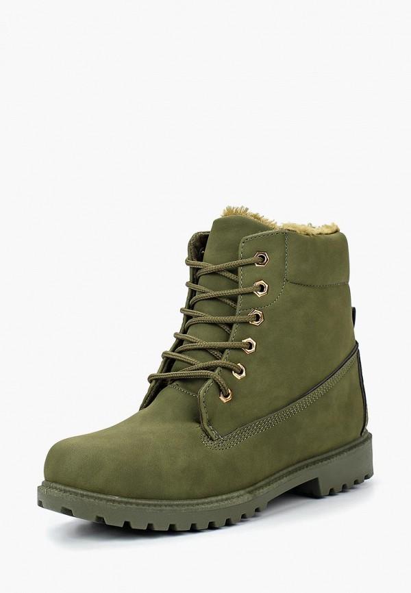 Купить Ботинки Exquily, EX003AWCAOH5, зеленый, Осень-зима 2018/2019
