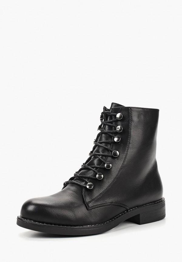 Купить Ботинки Exquily, ex003awcxbe6, черный, Осень-зима 2018/2019