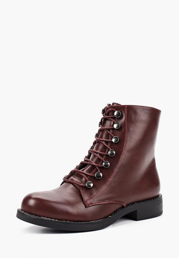 Купить Ботинки Exquily, ex003awcxbe7, бордовый, Осень-зима 2018/2019