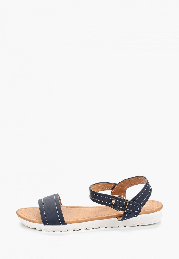 женские сандалии exquily, синие