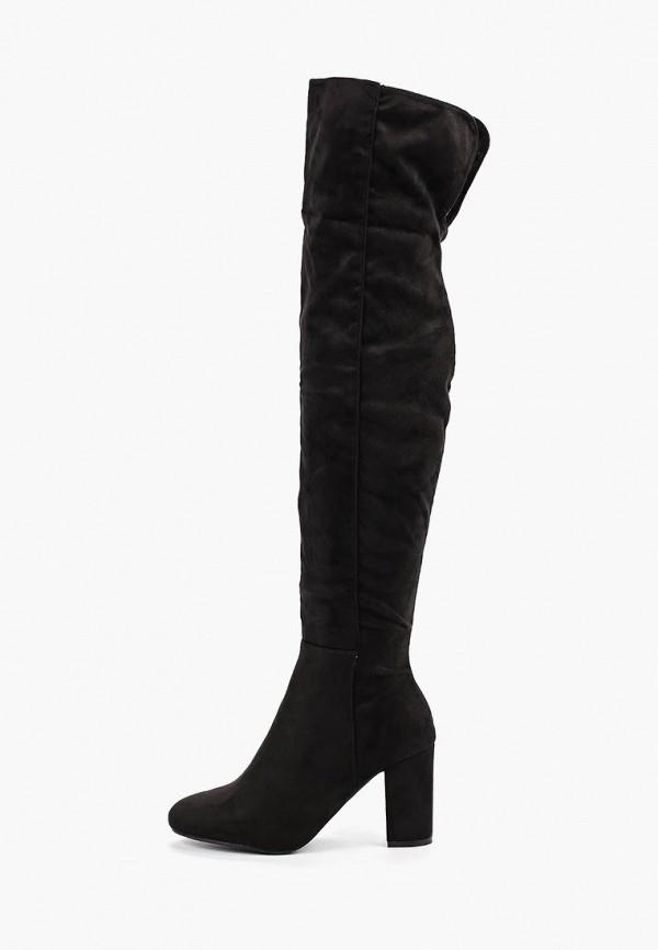 женские ботфорты exquily, черные
