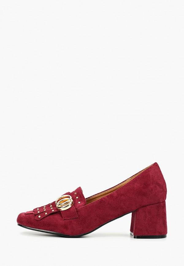 женские туфли exquily, бордовые