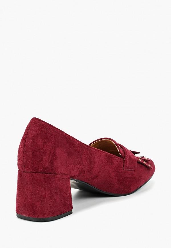 Фото 3 - женские туфли Exquily бордового цвета