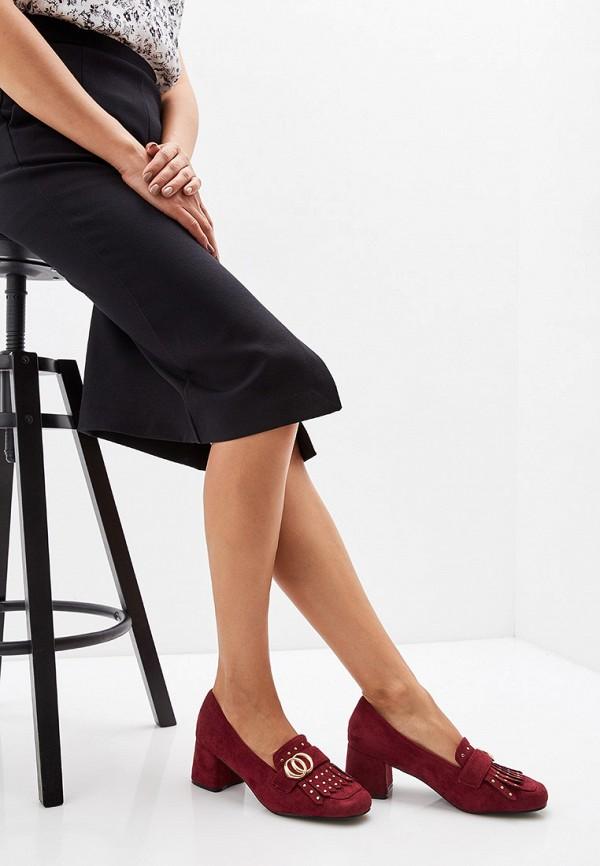 Фото 6 - женские туфли Exquily бордового цвета