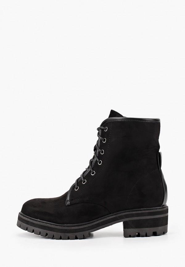 женские ботинки exquily, черные