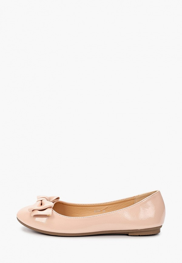 женские балетки exquily, розовые