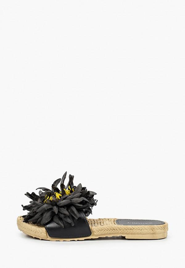 женские эспадрильи exquily, черные