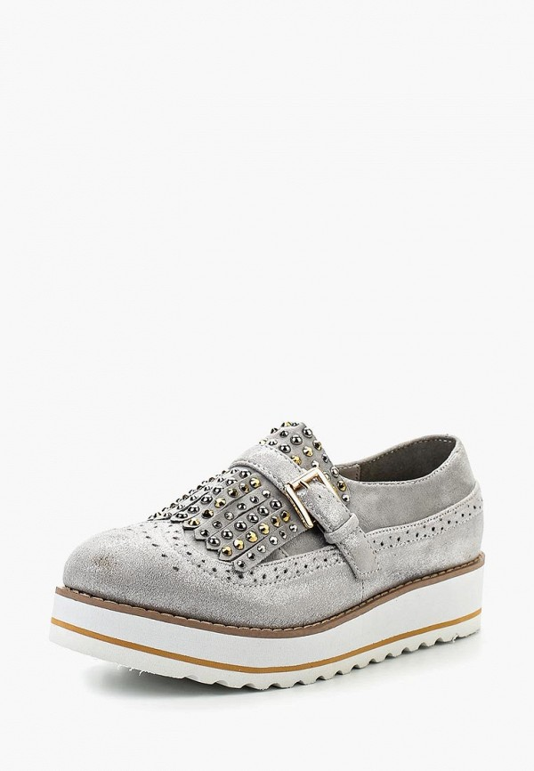 Купить Ботинки Exquily, ex003awrmy24, серый, Весна-лето 2017