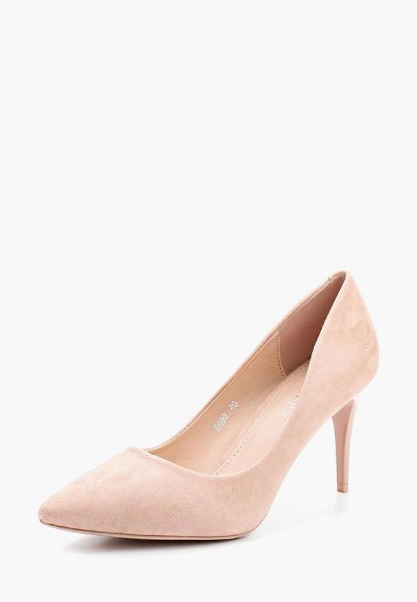 Купить Туфли Exquily, EX003AWWMC65, розовый, Осень-зима 2018/2019