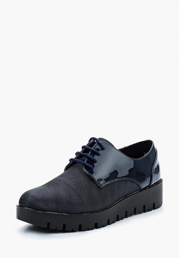 женские ботинки exquily, синие