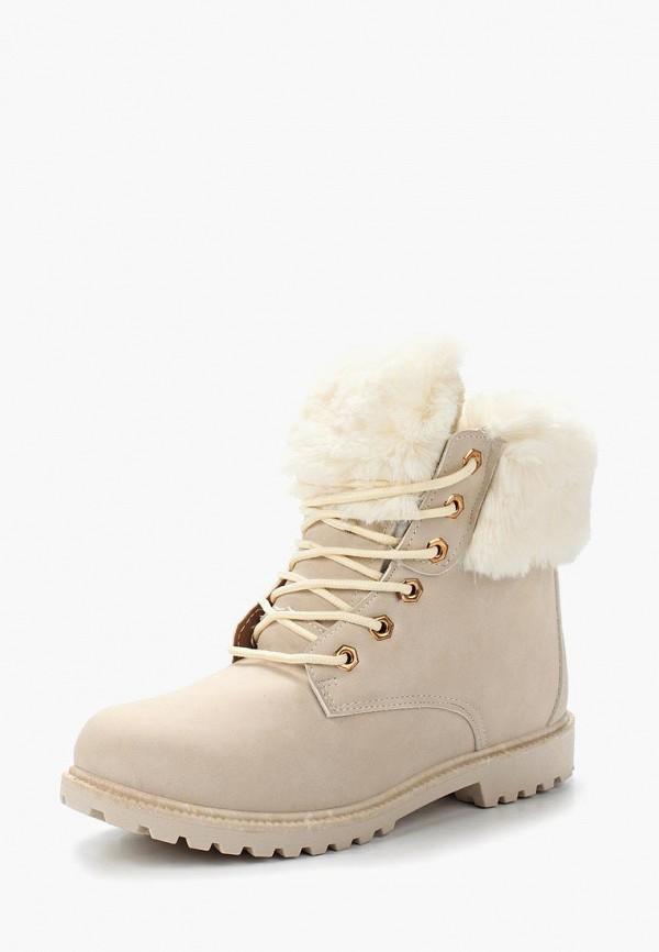 Ботинки Exquily, EX003AWXVU51, бежевый, Осень-зима 2018/2019  - купить со скидкой