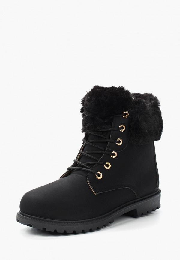 Купить Ботинки Exquily, ex003awxvu52, черный, Осень-зима 2018/2019