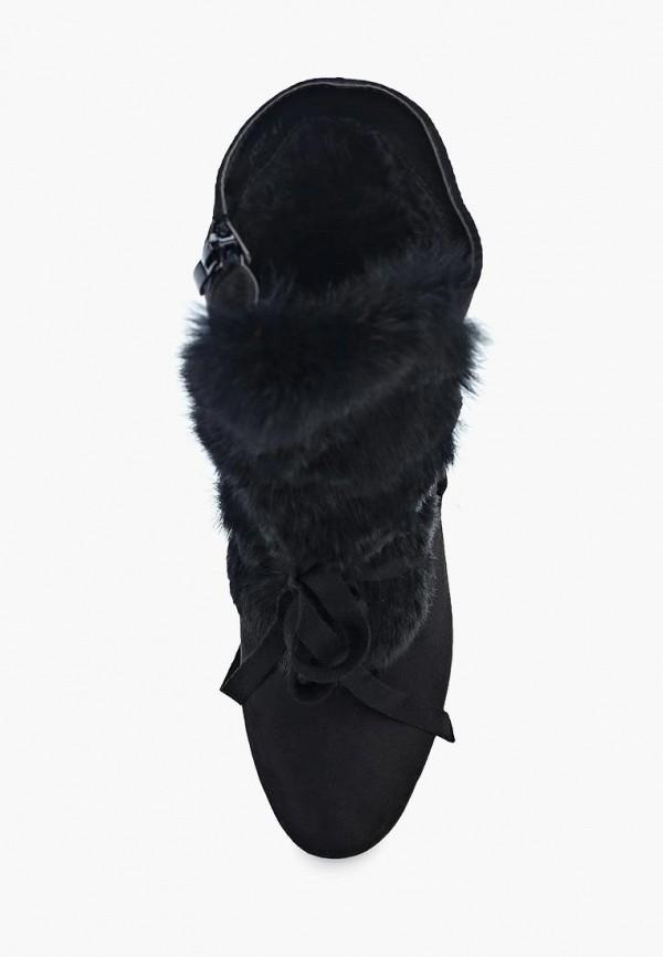 Фото 9 - женские ботильоны Exquily черного цвета