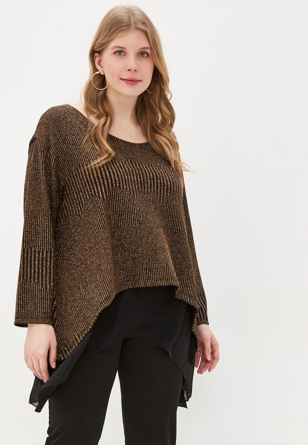 женская блузка exsy, золотая