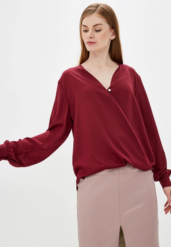 женская блузка exsy, бордовая