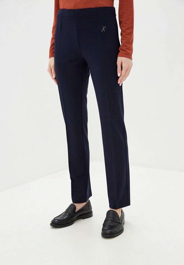 женские прямые брюки exsy, синие