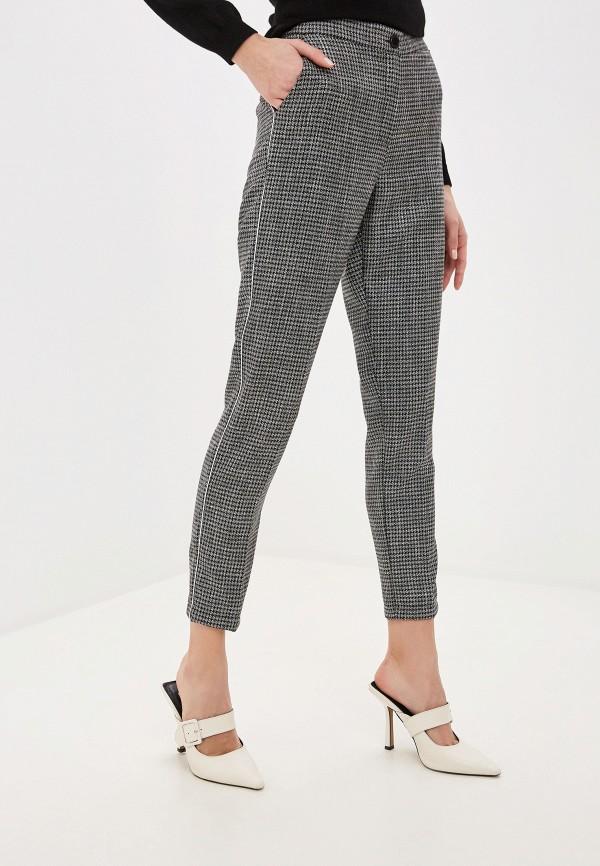 женские прямые брюки exsy, серые