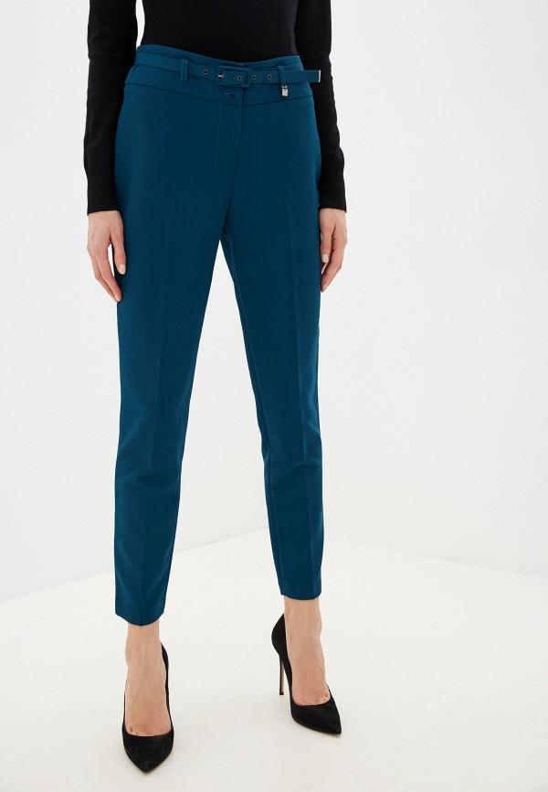 женские зауженные брюки exsy, синие