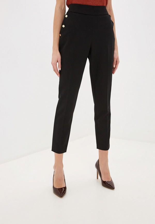 женские зауженные брюки exsy, черные