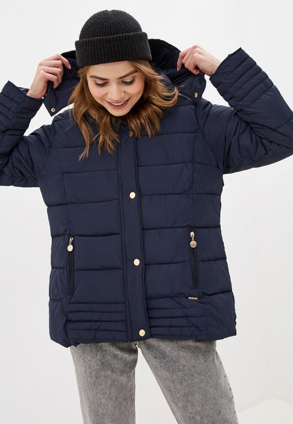 женская куртка exsy, синяя