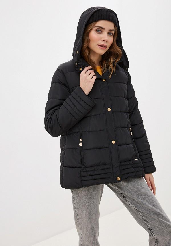 женская куртка exsy, черная