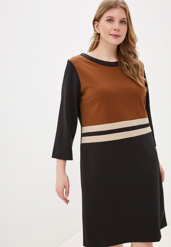 женское повседневные платье exsy, черное