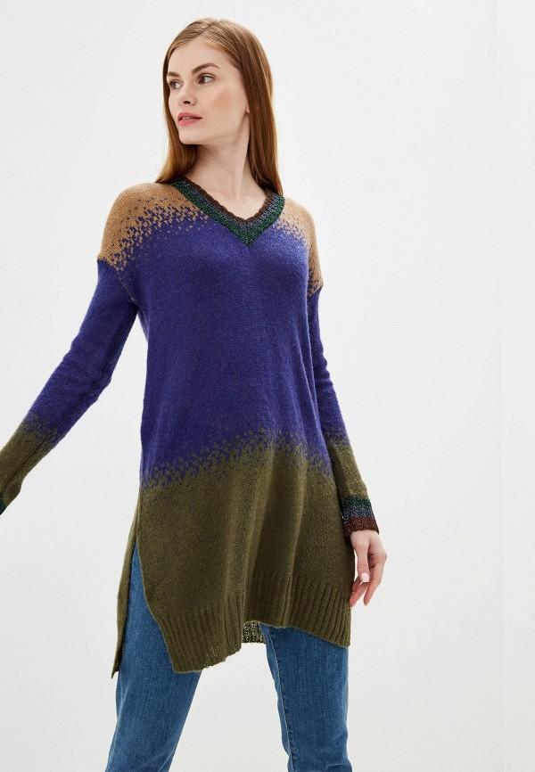 женский пуловер exsy, разноцветный