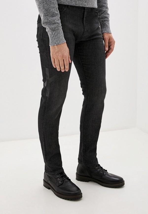 мужские зауженные джинсы faith connexion, серые