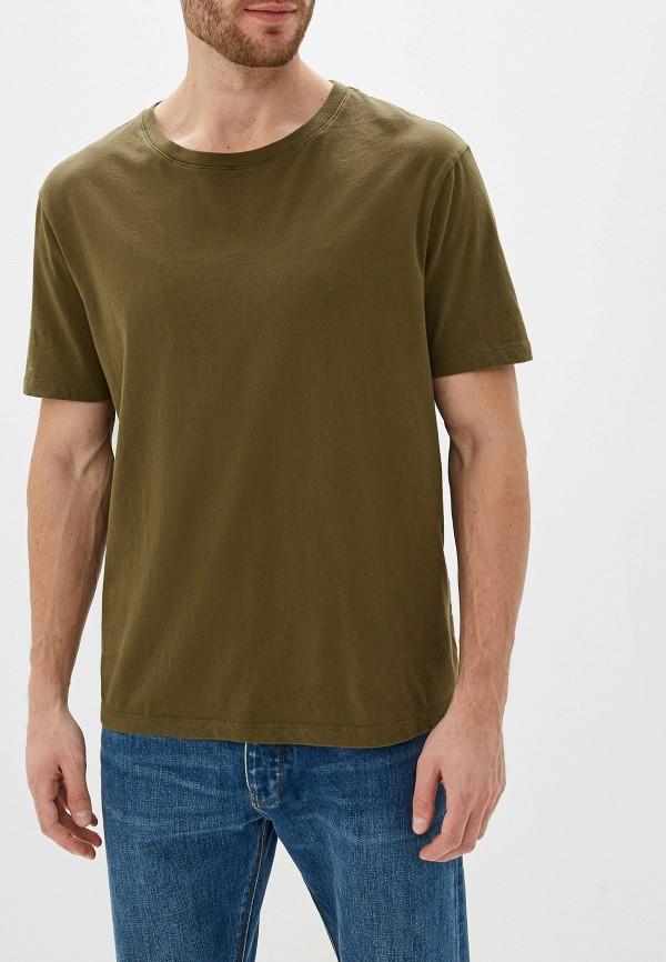 мужская футболка с коротким рукавом faith connexion, хаки