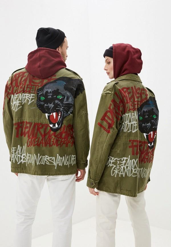 женская куртка faith connexion, хаки