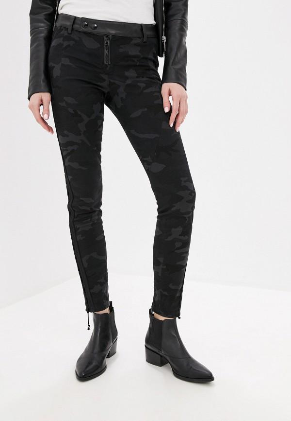 женские повседневные брюки faith connexion, черные