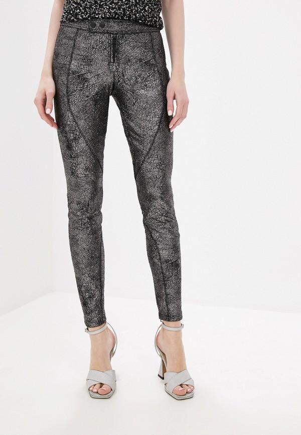 женские повседневные брюки faith connexion, серебряные