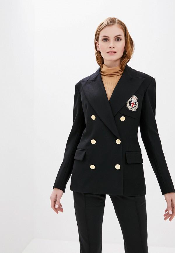 женский пиджак faith connexion, черный