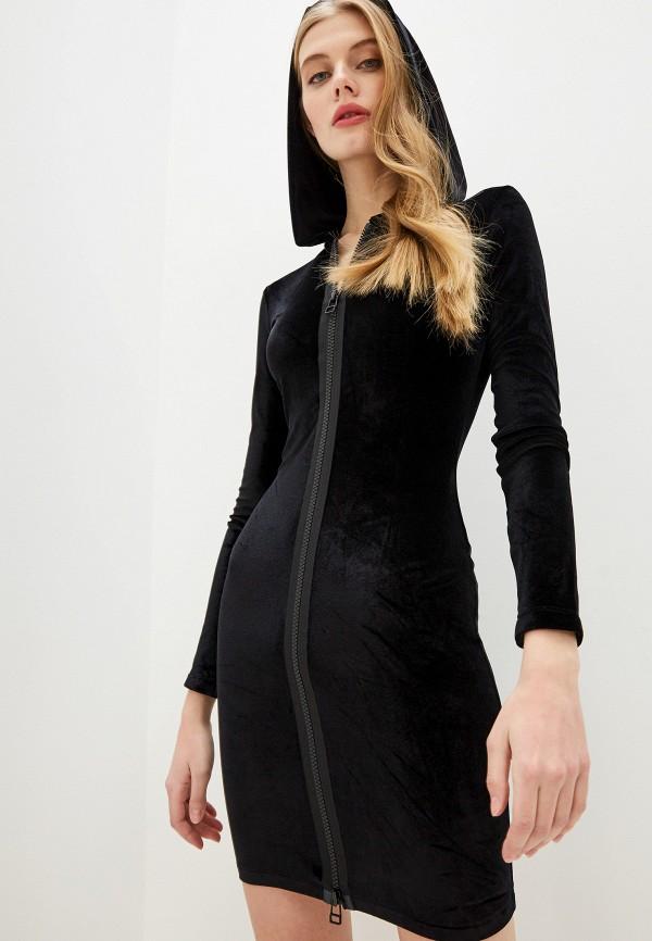 женское повседневные платье faith connexion, черное