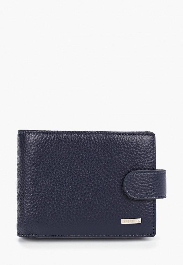 мужской кошелёк fabretti, синий