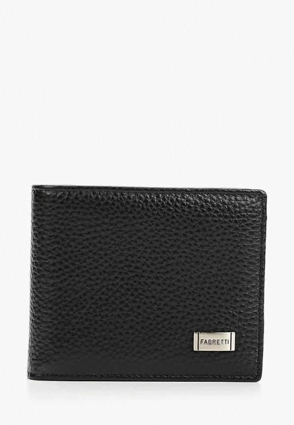 мужской кошелёк fabretti, черный