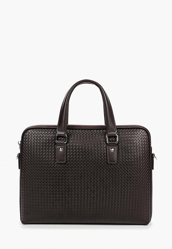 мужская сумка fabretti, коричневая