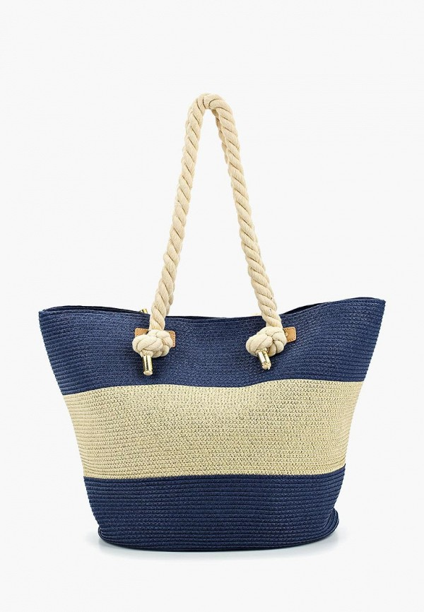женская сумка fabretti, синяя