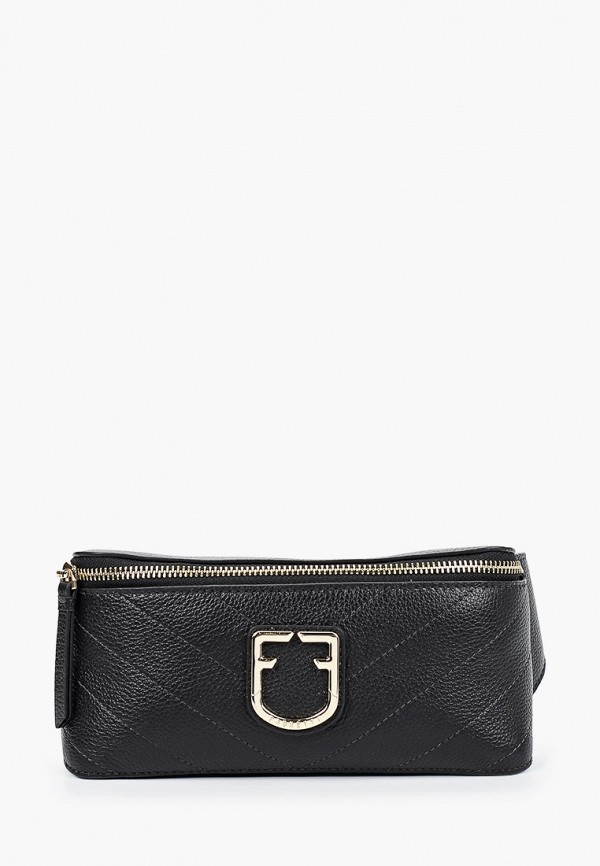 женская поясные сумка fabretti, черная