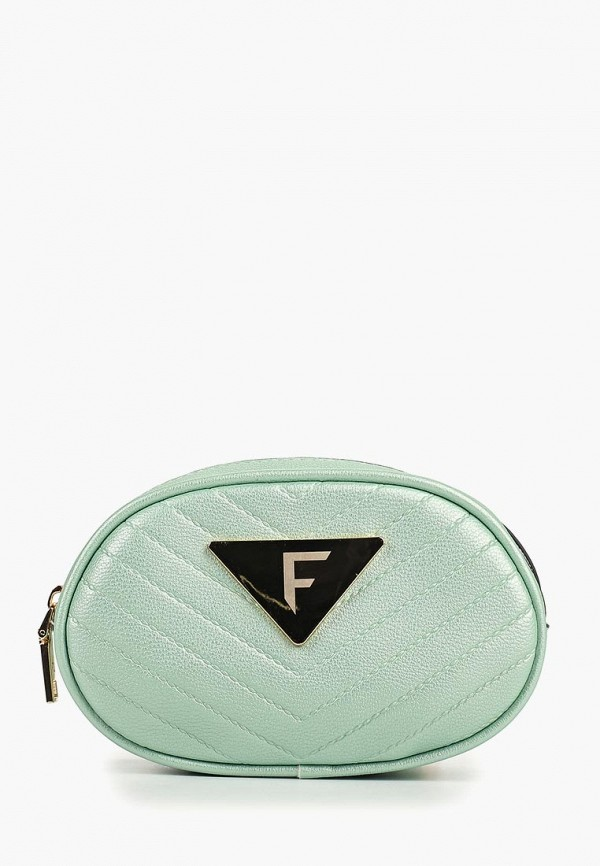женская сумка fabretti, бирюзовая