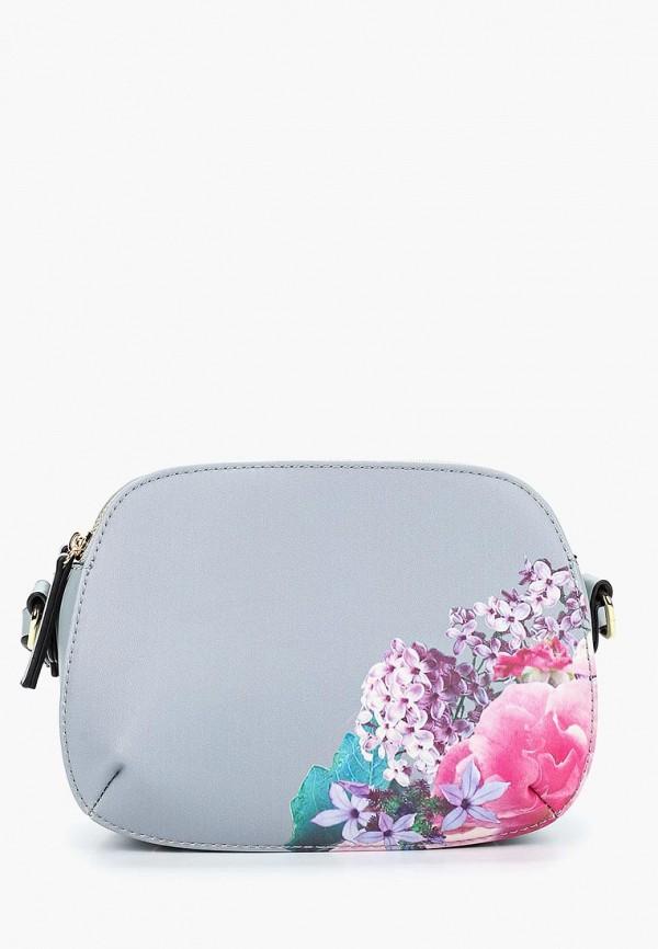 женская сумка fabretti, серая