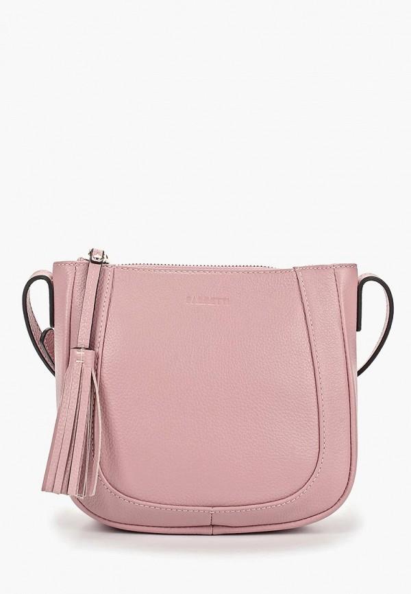 Фото - женскую сумку Fabretti розового цвета