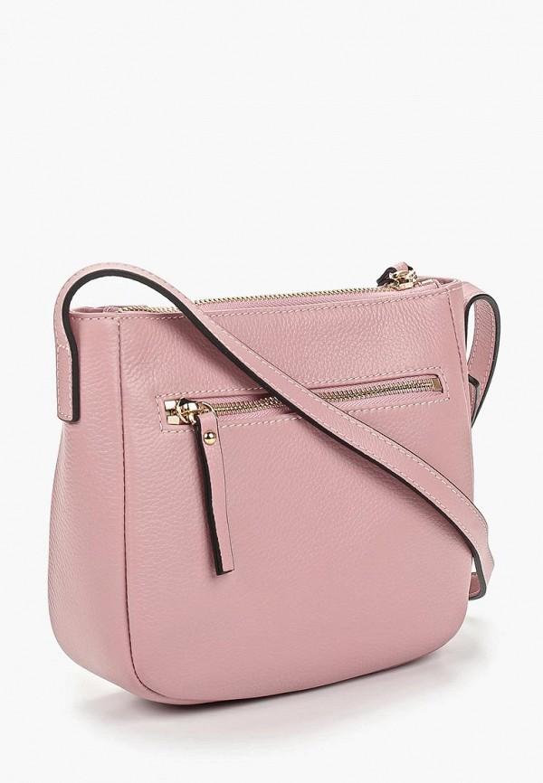 Фото 2 - женскую сумку Fabretti розового цвета