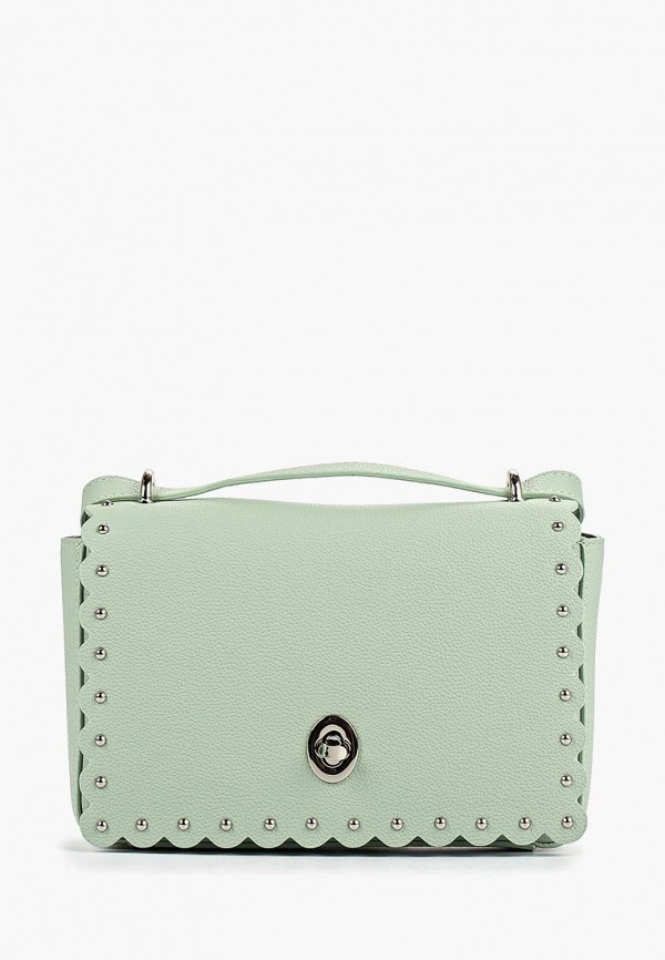 женская сумка fabretti, зеленая
